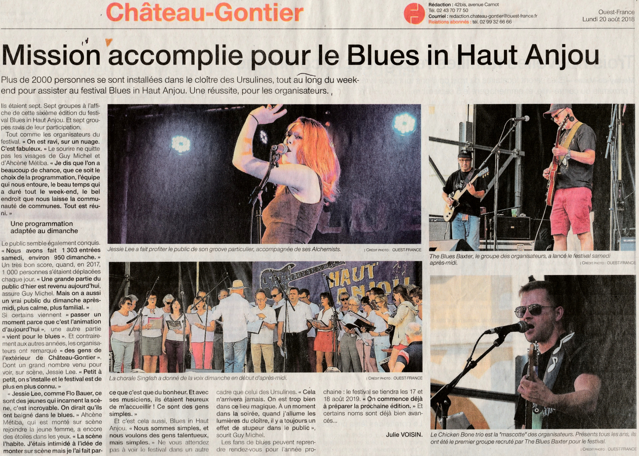 2018-08-20 Festival Blues – Ouest France